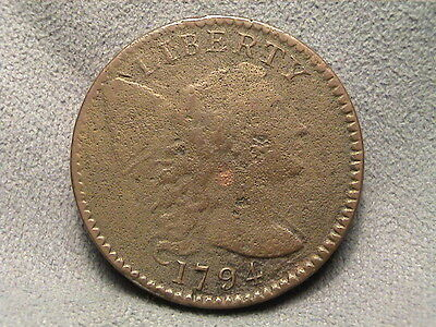 1794 Liberty Cap Large Cent.