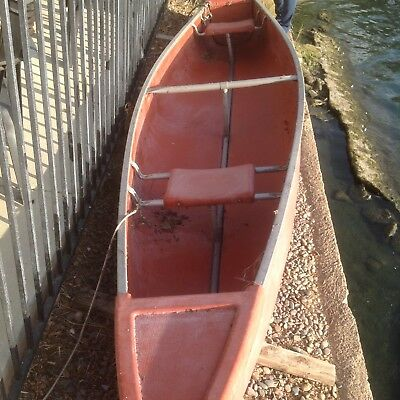 Boat Canoe Row Boat Kayak - 3 Person 15 ft in Good Condition