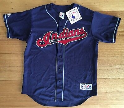 Cleveland Indians Majestic MLB Replica Baseball Jersey *New with Tags* L