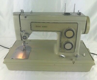 Sears KENMORE Portable Sewing Machine All Metal Heavy Duty Model 158.13160 Case