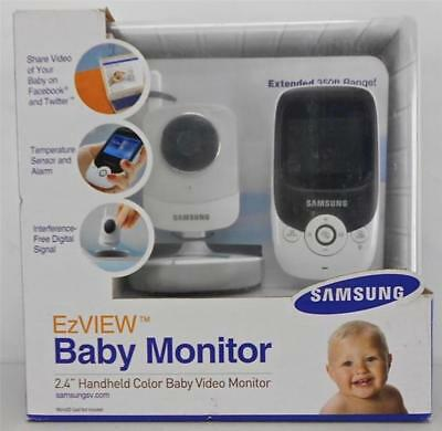 SAMSUNG SEW-3022 EzVIEW BABY MONITORING SYSTEM WIRELESS HANDHELD CAMERA