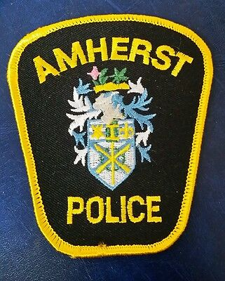 Amherst, Canada Police Shoulder Patch