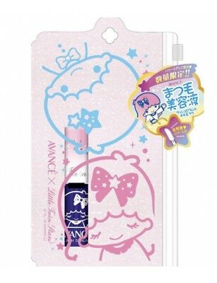 RARE~Japan Limited~New AVANCE Sanrio LITTLE TWIN STARS Eye Lash Serum+Pouch Case