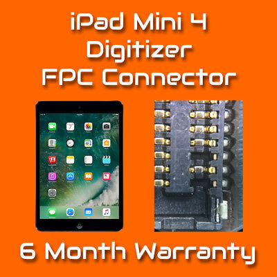 Apple iPad Mini 4 Digitizer Touch FPC Connector Repair Replacement Service
