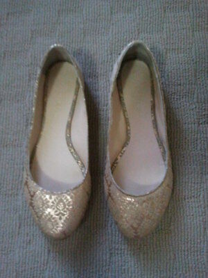 WITCHERY Ladies Ballet Flats Shoes Size 36 (Aus 5) - Hardly worn