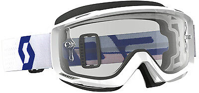 Scott USA Split OTG Goggles White W/Clear Lens 262599-1030113 White/Red 51-9510