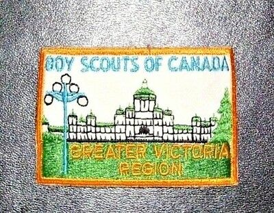 Boy Scouts of Canada Patch - Greater Victoria Region