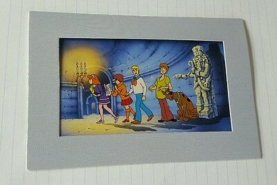 RARE Scooby-Doo Collectible Litho Cel Hanna-Barbera Near The Fear lithograph art