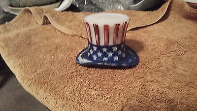 Vintage, Collectible, Americana, Uncle Sam's Tophat, Rare Westmoreland Novelty