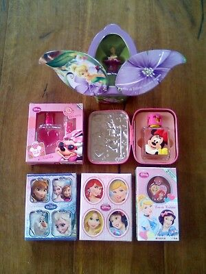 6 x Disney EDT sets inkl. Frozen, 2 x Princess, 2 x Minnie Mouse, Tinker Bell