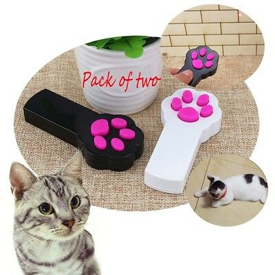 ANG Cat Catch the LED Light Interactive Exercise Toy Cat Training Tool (Pack of