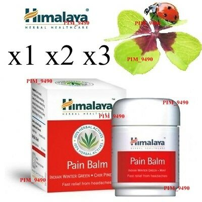 HIMALAYA Herbal Pain Balm With Mint Relieves Nasal & Chest Congestion 50g