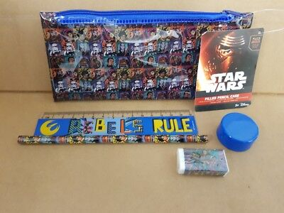 WHOLESALE JOB LOT 48 x BRAND NEW STAR WARS FILLED PENCIL CASES. NOT PALLET