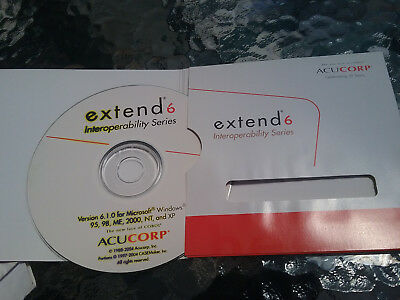 ACUcorp Extend6 Interoperability Series Software Disc + License