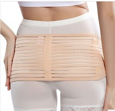 1 S M L XL Hip Fat Slimming Shaper Belt Beige Polyester Maternity Recovery Gift