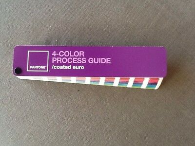 Pantone 4 - Color Process Guide / Coated Euro