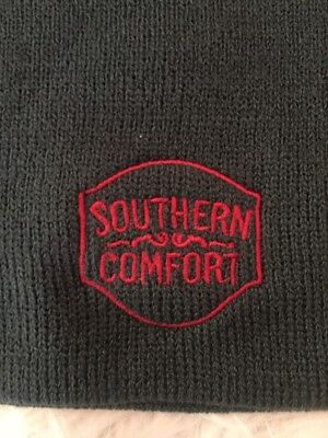 NEW- Southern Comfort Embroidered Slouchy Beanie Hat - Grey Color