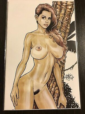 Cavewoman Meriem's Gallery Book 4 Budd Root Special Nude Variant LTD 750