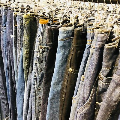 25 X Vintage Denim Skirts - Bulk Vintage Wholesale Job Lot