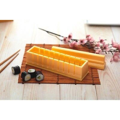KitchenCraft Asia Pacific World of Flavours Oriental Sushi Maker Kit Press Mould