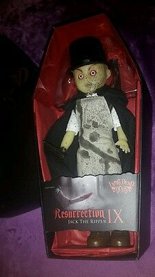 Living Dead Dolls Jack the Ripper Sepia Variant Resurrection GLOW IN THE DARK