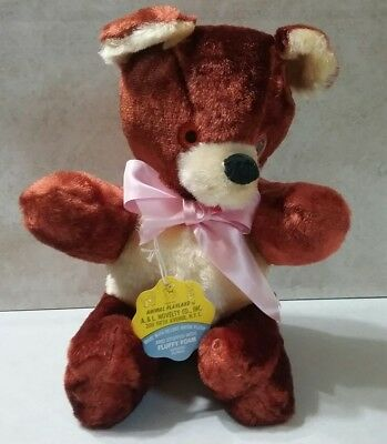 Vintage Teddy Bear from the Animal Playland of A&L Novelty Co. (Around 1970s)