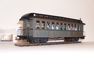 "Bachmann Spectrum 26202 Spur 0n30/0e Wood Coach/Observation ""Unlettered"" (Nr. 3)"