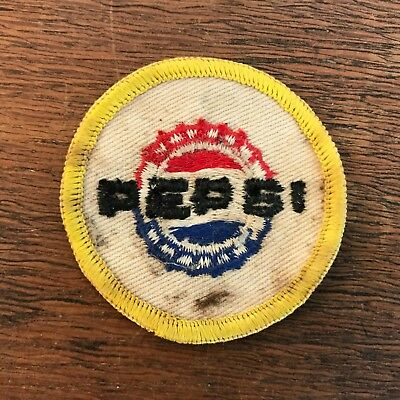 """Vintage Pepsi Cola Delivery Man Uniform Embroidered Sew On Patch 2"""""""