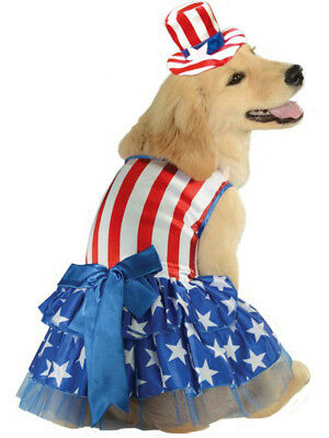 Patriotic Pooch Uncle Sam 4th Of July American Dog Pet Costume