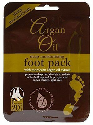 Argan Oil Treatment Deep Moisturising Foot Pack With Moroccan Extract
