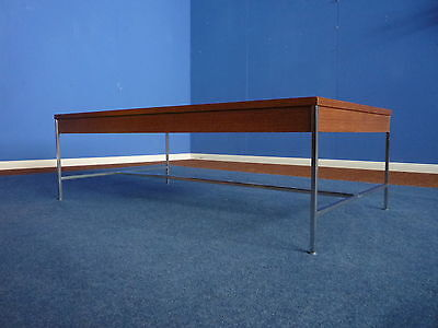 Seltener Coffee Table George Nelson for Herman Miller Wenge 1950s-Early Version