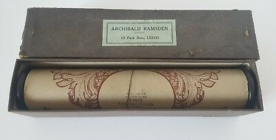 Rare Full Scale Accentuated Piano Rolls Overture R. Wagner vintage Archibald