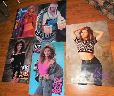 Miller Beer Pauli Country Posters Models Sexy Ladys Shania Twain