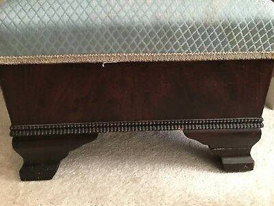 Antique American Empire Style Vintage Ottoman Footrest Hersee Furniture