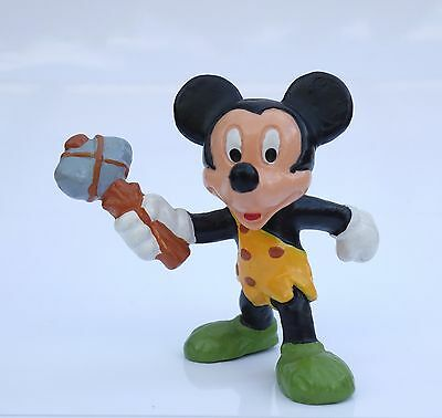 * Mickey Mouse / Micky Maus als Caveman *; gem. Disney / Bullyland handpainted