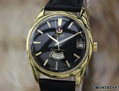 Rado Daymaster Swiss Made Vintage1960 Day Date Automatic Men's Watch Ap117