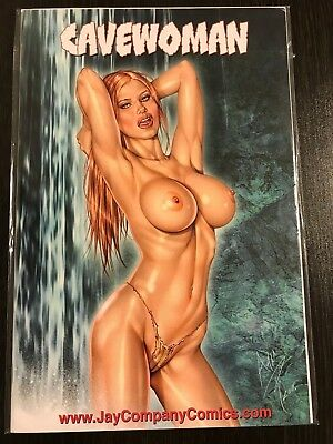 Cavewoman 1 Jay Company SDCC Exclusive Variant Limited 100 NM Rare Comic