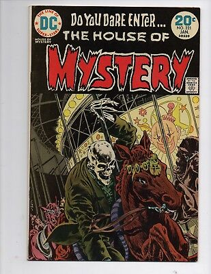 DC Bronze Age House Of Mystery 221 High Grade Combined Shipping