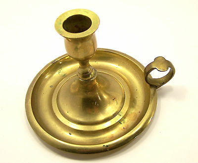 Solid Brass Ring Finger Candle Holder 3 3/4 high 4 7/8 diameter Home Decor