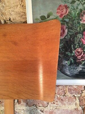 Vintage Mid Century Modern 1950s Blond Bentwood Double Headboard (poss. G-Plan)