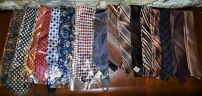 Lot Of Vintage To New In Package Neckties Wear Sell Quilts