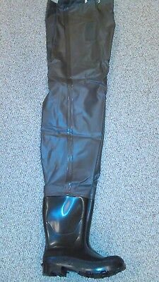 *NEW in box* LaCrosse Chest Wader Insulated Brown Men's Size 10 2-ply nylon
