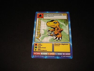 Bandai Digimon Card St-01 Agumon-Free Combined Shipping-Good Condition