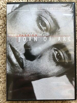 The Passion of Joan of Arc (DVD, Criterion Collection) Carl Th. Dreyer Mint!