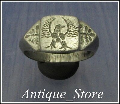 **AQUILA** LEGIONARY-SPQR-EAGLE **Ancient Silver Legionary Roman Ring