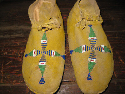 Southern Plains Mocassins with Morning Star on Vamp