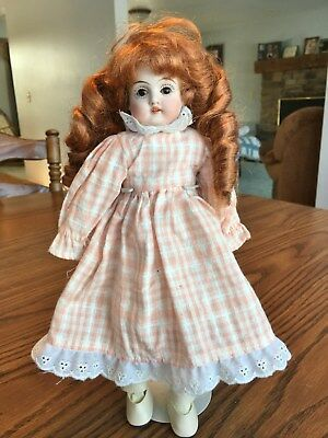 Old antique bisque head German Germany Kestner character doll DEP NR