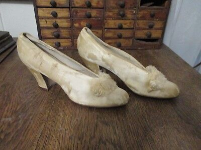 Antique Vintage Women's Slipper Shoes