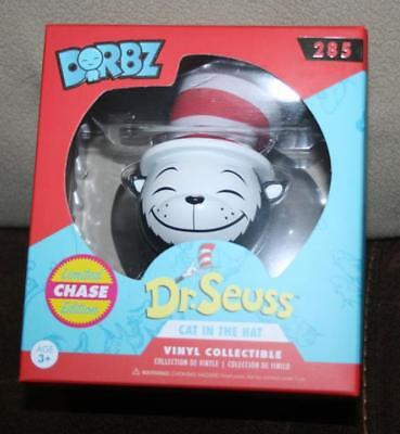 CHASE Version Dr Seuss Cat in the Hat Funko Dorbz Vinyl Sugar Sealed New Minty