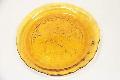 Lindt Design Decorative serving plate Amber coloured see-through 32cm #12373